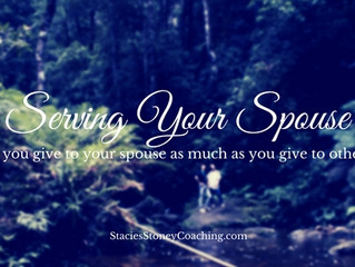 Serving Your Spouse- Do YOU?