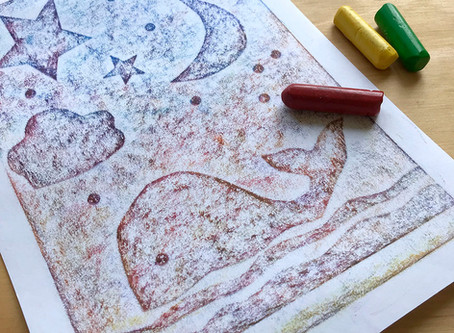 Kids Corner - Crayon Rubbing