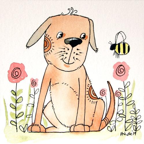 Dog & Bee