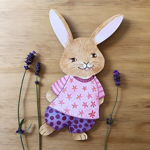 Bunny wall art