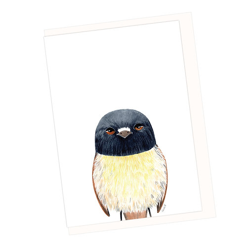 Tomtit Greeting Card