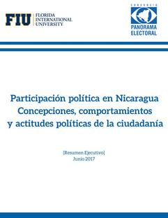 """Resumen Ejecutivo-Estudio: """"ParticipaciónpolíticaenNicaragua Concepciones,comportamientos"""