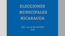 I Informe de Observación Sistemático-Proceso Electoral 2017