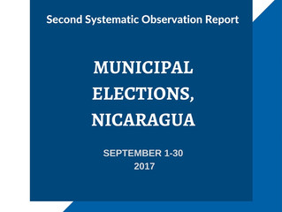 Second Systematic Observation Report September 1-30, 2017