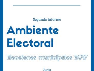Segundo Informe de observación: Ambiente Electoral-Elecciones Municipales 2017, Nicaragua