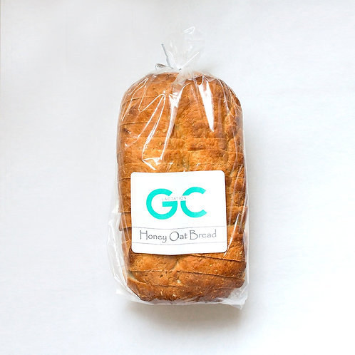Honey Oat Sandwich Bread