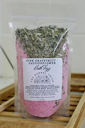 Pink Grapefruit - Passionflower Bath Fizz - Wholesale