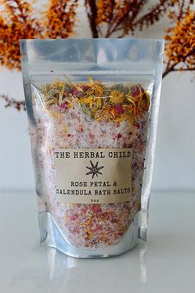 Rose Petal & Calendula Bath Soak