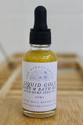Liquid Gold Hemp Seed Body Oil - Wholesale