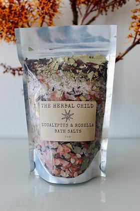 Eucalyptus & Rosella Bath Salts