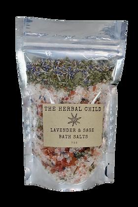 Lavender & Sage Bath Salts
