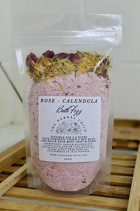 Rose Petal - Calendula Bath Fizz - Wholesale