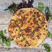 mozzarella, tomato & olive