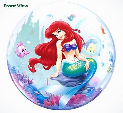 "Ariel The Little Mermaid Bubble Balloon 22"""