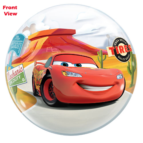 Lighting McQueen & Mater Single Bubble Balloon