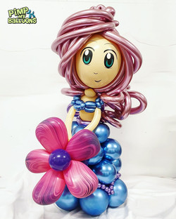 $110 - Princess Balloon Character