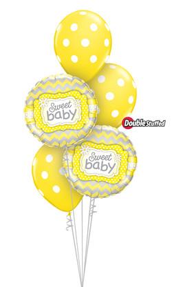 $45  -   Sweet Baby Yellow