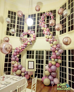 wedding balloon garland 2 - pimp my balloons