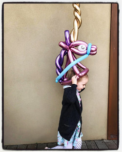 Balloon Unicorn Hat