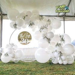 Balloon Garland 30th birthday balloon De