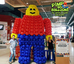 Balloon Lego Man Pimp My Balloons