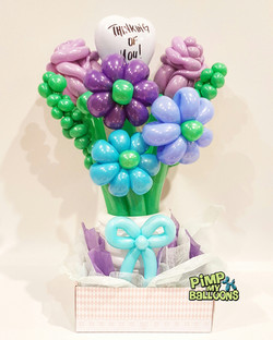 Flower Balloon Bouquet