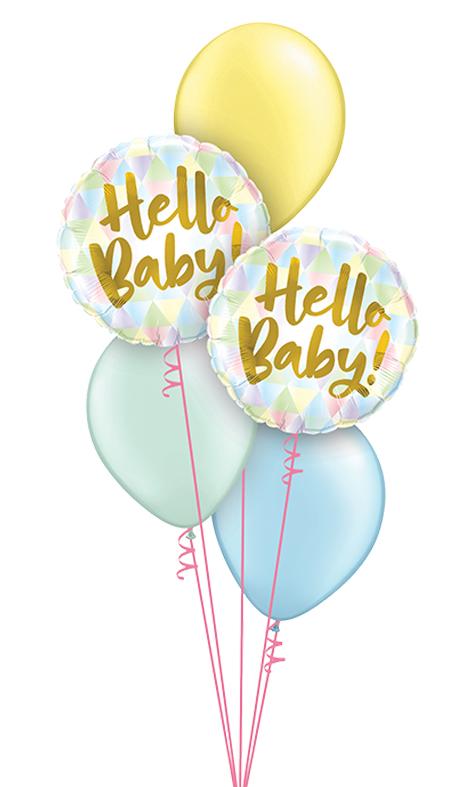 $40  -  Pastel Hello Baby