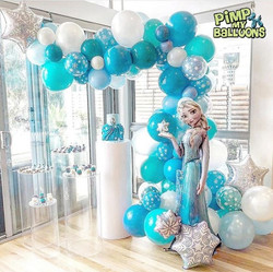 Elsa themed organic garland