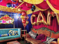 Burlesque or carnival Balloons