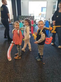 Balloon twisted jetpacks - Western Port