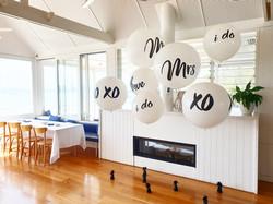 Wedding balloon Backdrop
