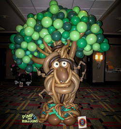 Enchanted Balloon Tree