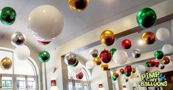 Balloon Ceiling Installation