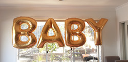 $120 - Giant Baby Letters