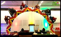 Superhero arch_Pimp My Balloons
