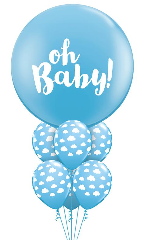 $84  -  Oh Baby Blue Bpuquet