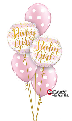 $45  -  Baby Girl Dots