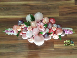 Funeral balloon arrangement