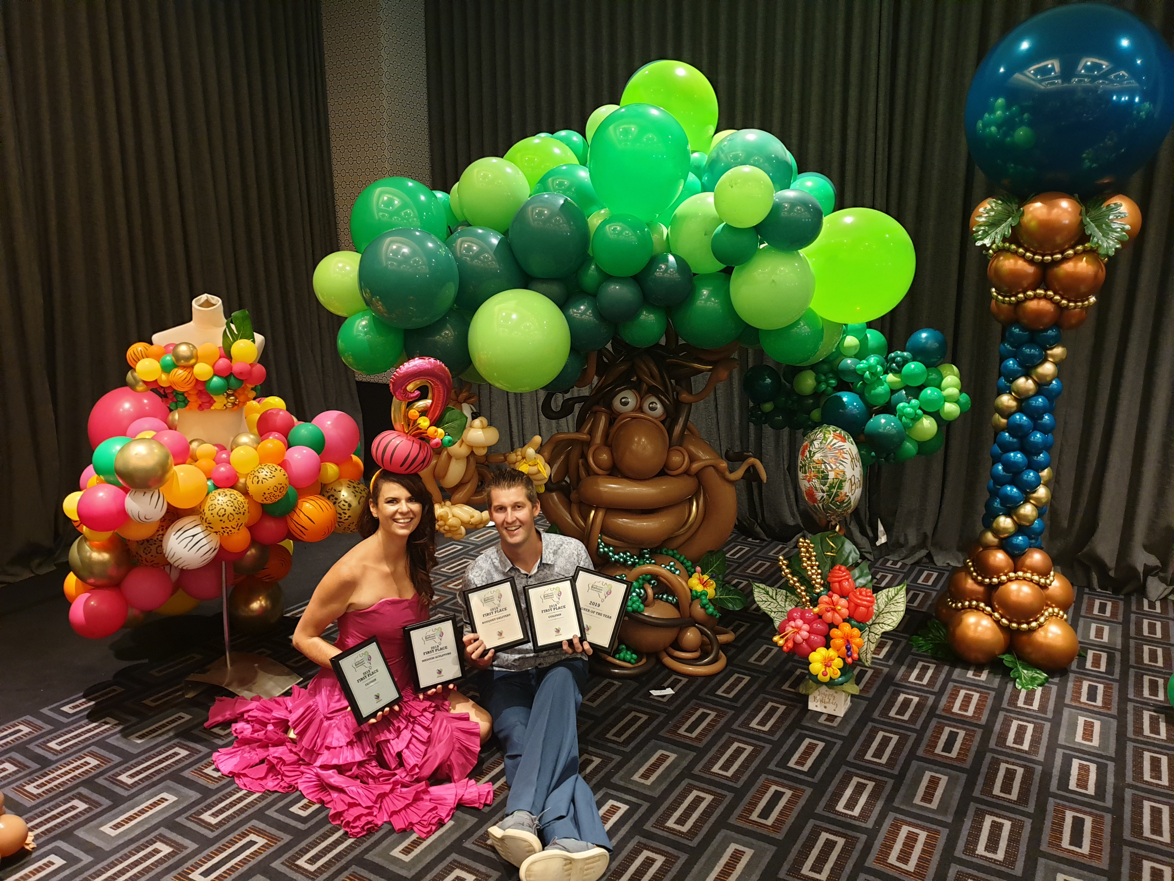 Competition Balloon Sculptures