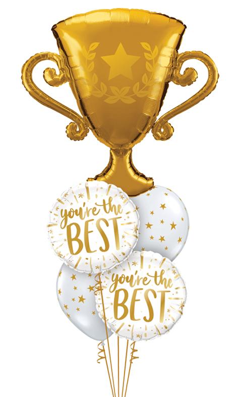 $75 - You're The Best Trophy Bouquet