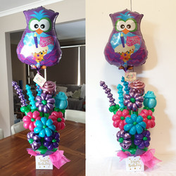 $85  -  Owl Bouquet