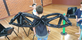 balloon dragon wings