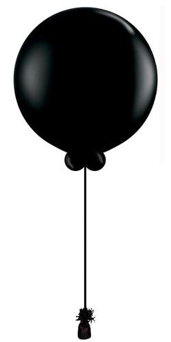 $55  -  Black Gender Reveal Balloon