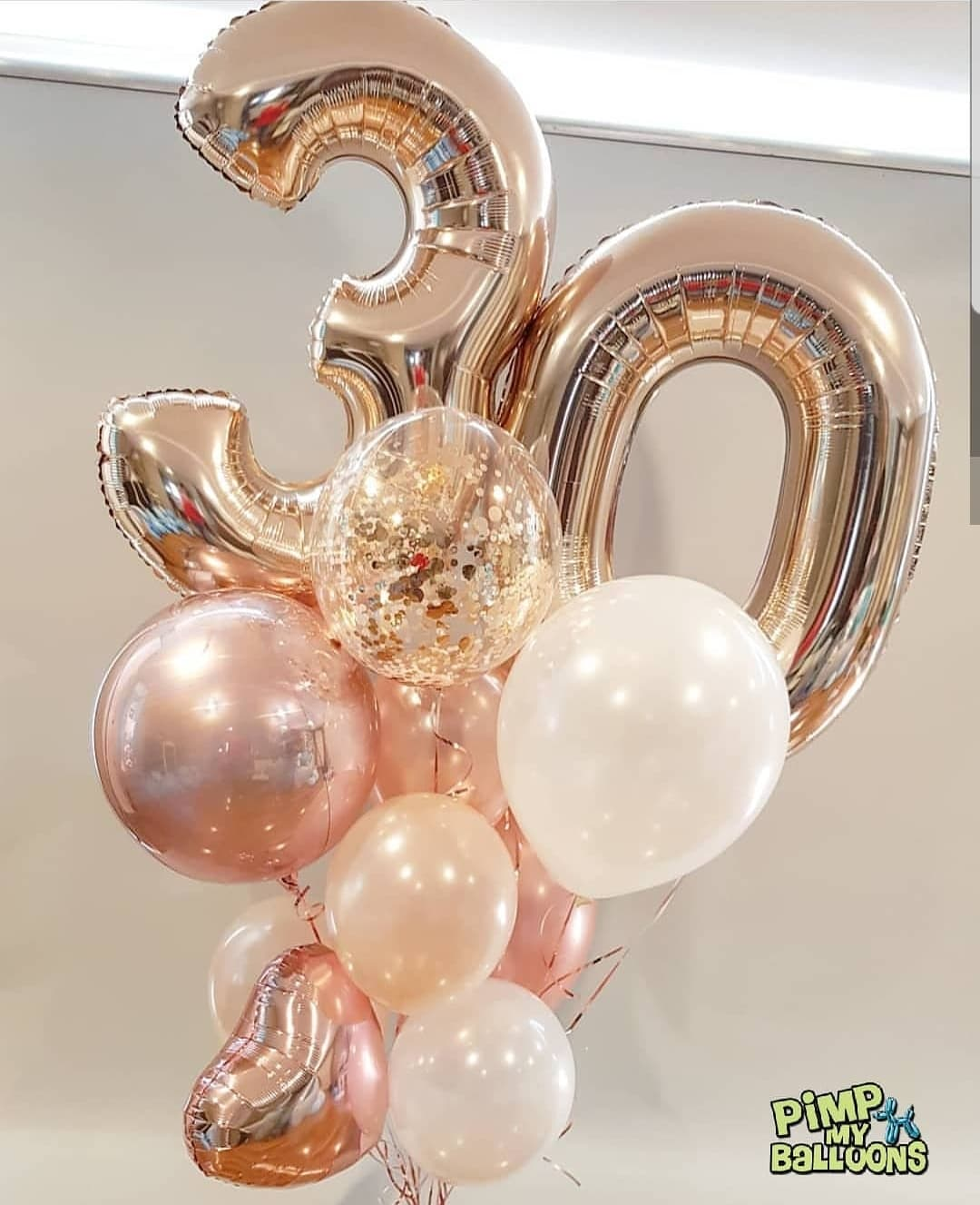 $140 - Giant balloon bouquet