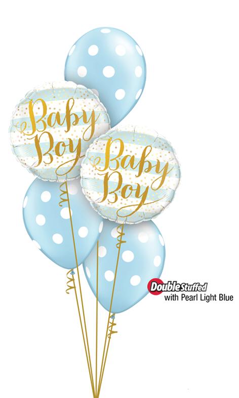 $45  -  Baby Boy Dots