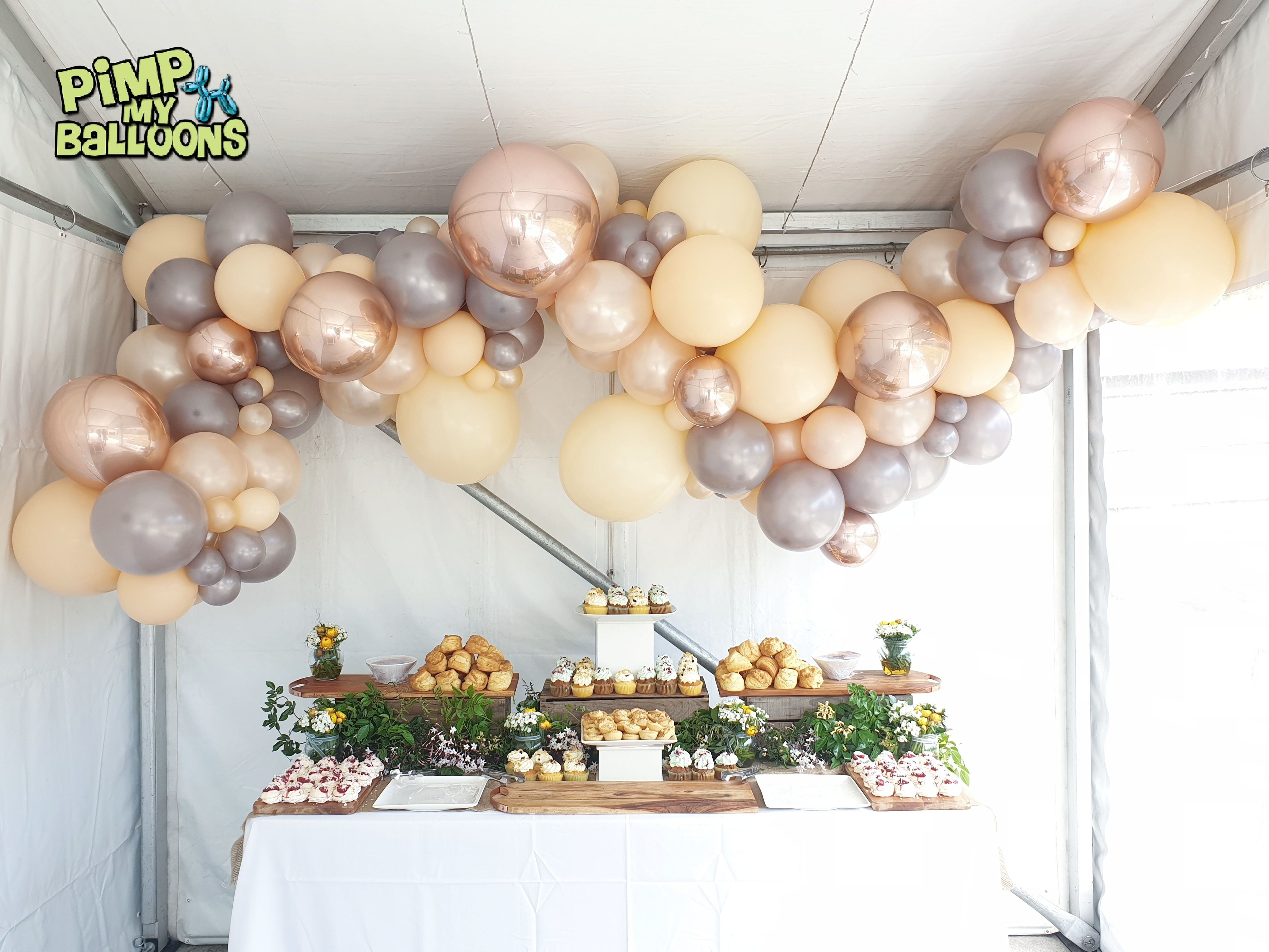 Baby Shower Organic Garland