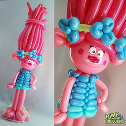Balloon Poppy Trolls