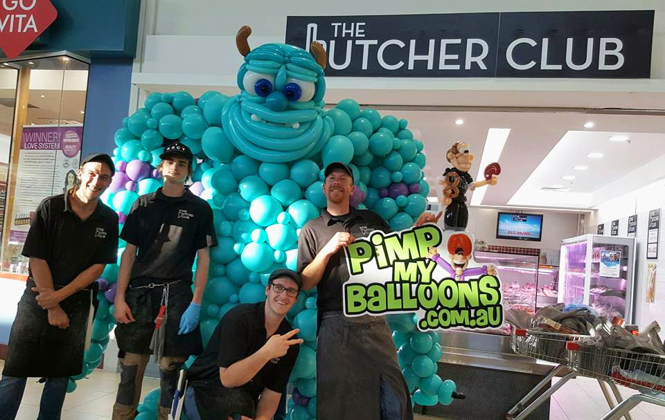 Sully Monsters Inc with The Butchers Club