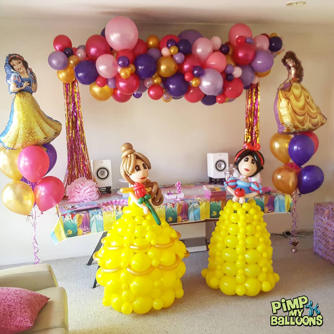 Princess themed 1st birthday