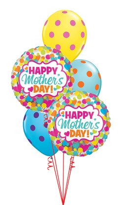 $42  -  Colourful Mother's Day Dots